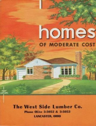 Homes of Moderate Cost. Pattern Book, Inc National Plan Service