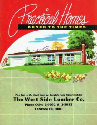 Practical Homes, Keyed to the Times. Pattern Book, National Plan Service