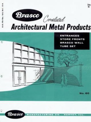 Brasco Correlated Architectural Metal Products, Entrances, Store Fronts, Brasco Wall, Tube Set -...