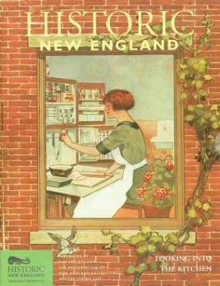 Lot of Old-Time New England and Historic New England magazines, 1975-2008.