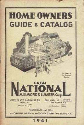 Home Owners Guide & Catalog. Building Materials, Great National Millwork, Lumber Corp.
