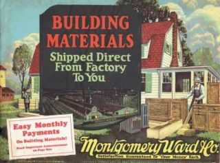 Building Materials. Building Materials, Montgomery Ward, Co.