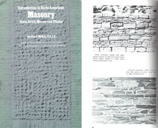 Introduction to Early American Masonry.