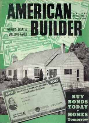 American Builder and Building Age, June 1944. Building Trades, Joseph B. Mason.