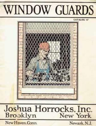 Horrocks Window Guards: Catalog 17; Standard Tool Room Partitions, Folding Gates, Machinery...