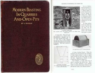 Modern Blasting in Quarries and Open Pits. Stone, J. Barab