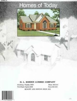 Homes of Today. Pattern Book, Standard Homes Plan Service.