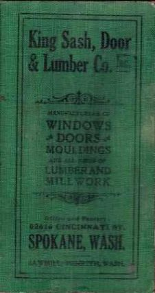 Universal Price List of Sash, Doors and Blinds; and Hand Book of Millwork containing lists of...