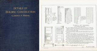 Details of Building Construction. Building Trades, Clarence A. Martin