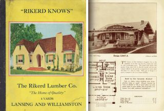 The Home of Quality. Pattern Book, Rikerd Lumber Company