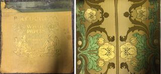 B. A. Cook & Co. Wall Paper Sample Book. Wallpaper, B. A. Cook, Co