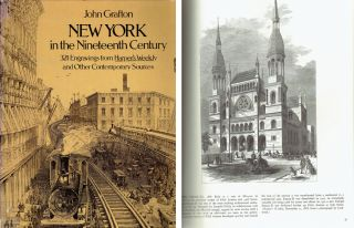 New York in the Nineteenth Century; 321 engravings from Harper's Weekly and other contemporary...