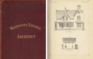 Woodward's National Architect; containing 1000 original designs, plans and details, to working...
