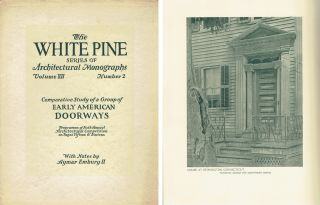 Comparative Study of a Group of Early American Doorways (The White Pine Series of Architectural...