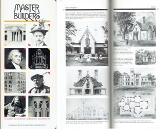 Master Builders: A Guide to Famous American Architects. American History, Roger K. Lewis, Diane...