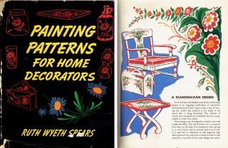 Painting Patterns for Home Decorators. Crafts, Ruth Wyeth Spears