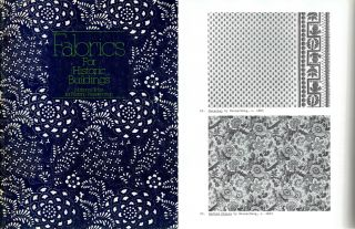 Fabrics for Historic Buildings. Textiles, Jane C. Nylander