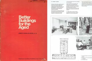 Better Buildings for the Aged. Urban Studies, Joseph Douglas Weiss