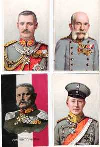 German Aristocracy) Single lot of 12 postcards of Prussian and Bavarian Aristocracy